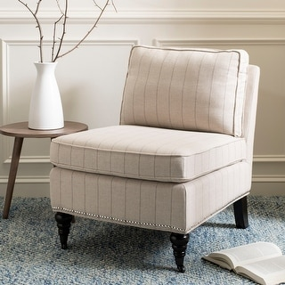 Shop Safavieh Randy Light Blue Armless Club Chair 24 Quot X