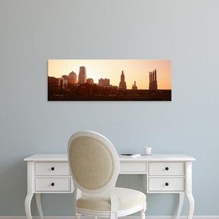 Easy Art Prints Panoramic Images's 'Kansas City, Missouri, USA' Premium Canvas Art