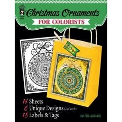 """Fancy Christmas - Hot Off The Press Coloring Book 5""""X6"""""""