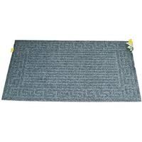 "Homebasix 06ABSHE-02-3L Crumb Rubber Floor Mat, 18"" x 30"""