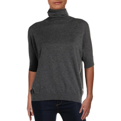 MaxMara Womens Editti Turtleneck Sweater Cashmere Blend Dolman Sleeves - L