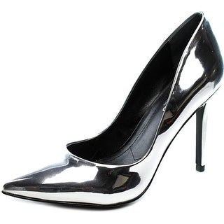 Charles By Charles David Pact Pointed Toe Patent Leather Heels