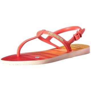 7e9f9c158 Kids Havaianas Girls Alpargatas Slip On Flip Flops