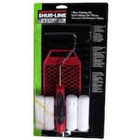 Shur-Line 03975C Paint Roller And Tray Sets, 7 Piece, 12""