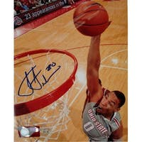 CTBL-011369 Jared Sullinger Signed Ohio State Buckeyes Photo - 8 x 10