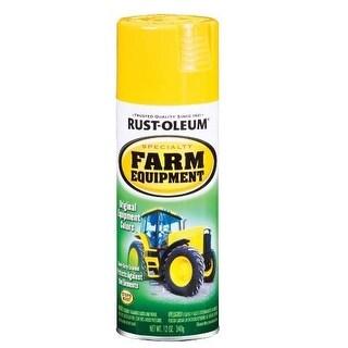 Rust-Oleum 7443830 Specialty Spray Paint, 12 Oz, John Deere Yellow