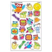 Owl Stars & Friends Supershapes Stickers Large