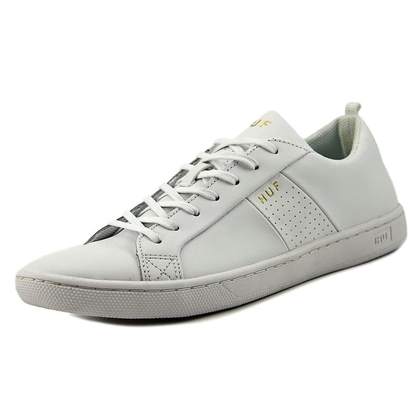 HUF Boyd Men Round Toe Leather White Skate Shoe