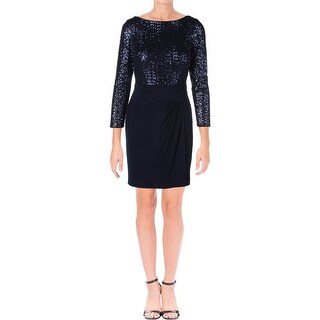 Lauren Ralph Lauren Womens Petites Cocktail Dress Sequined Long Sleeve (5 options available)