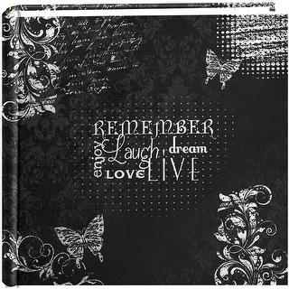 "Pioneer 2-Up Chalkboard Print Album 4""X6""-Remember"