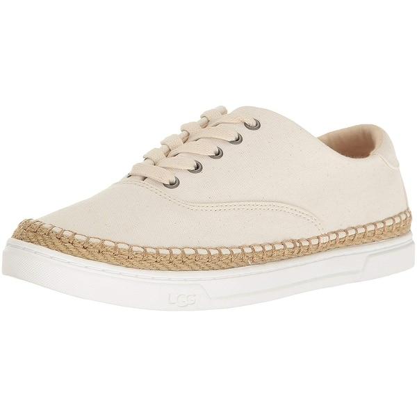 a44bda44dc2 Shop Ugg Womens Eyan II Canvas Low Top Lace Up Fashion Sneakers ...