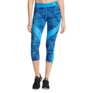 Nike Womens Capri Pants Printed Mesh Inset