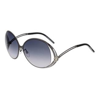 Roberto Cavalli RC894S GRUMIUM 166 Grey Square Sunglasses