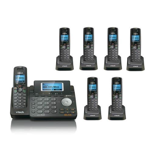 VTech DS6151 + (6) DS6101 2 Line Expandable Cordless Phone