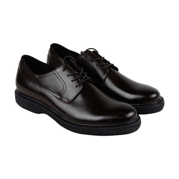 Kenneth Cole New York Design 10401 Mens Brown Casual Dress Oxfords Shoes