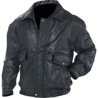 Link to Napoline Roman Rock Design Genuine Leather Jacket Similar Items in Men's Outerwear