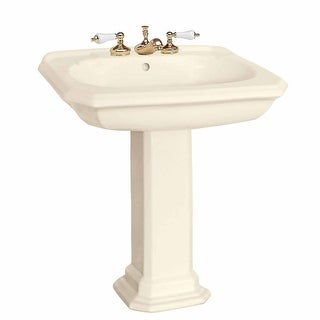 Bath Pedestal Sink Bone China 8 Widespread Kingsway Renovator's Supply