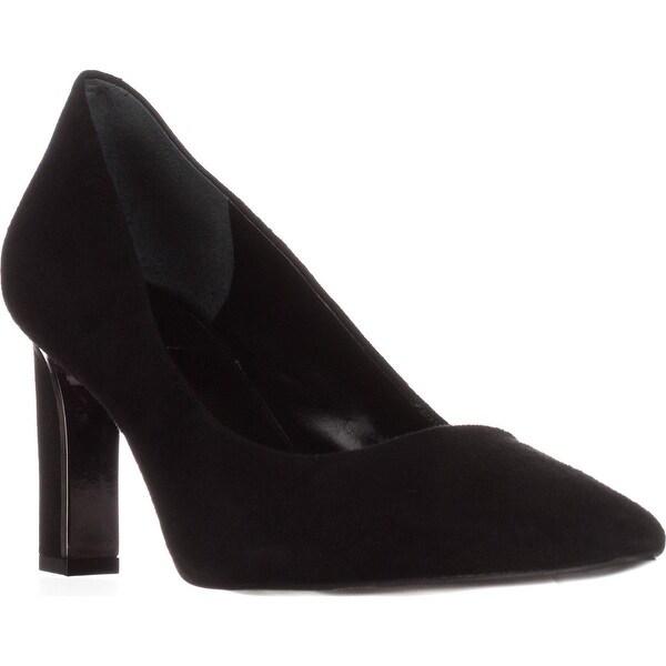 A35 Taluluh Classic Heels, Black Suede - 8 us