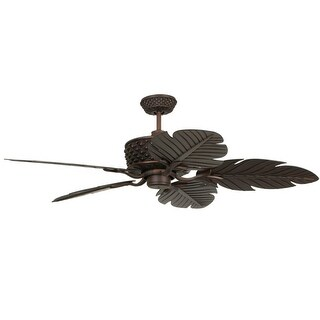 """Craftmade Pineapple Pineapple 52"""" 5 Blade Indoor / Outdoor Ceiling Fan - Blades Included"""