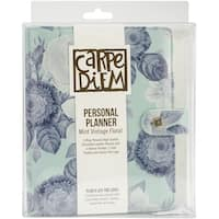 Carpe Diem Personal Planner-Mint Vintage Floral