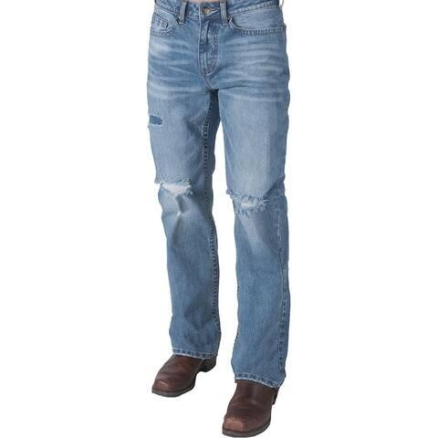 B. Tuff Western Jeans Mens Weekend Vibes Bootcut Light