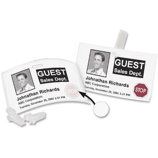 DYMO - Visitor Management Time-Expiring Name Badges, 2-1/4 x 4, 250/Box