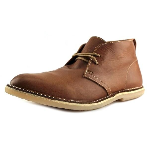 Artola Denver Men Round Toe Leather Tan Chukka Boot