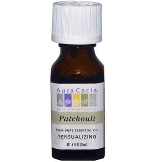 Aura Cacia Essential Oil Patchouli 0.5-ounce