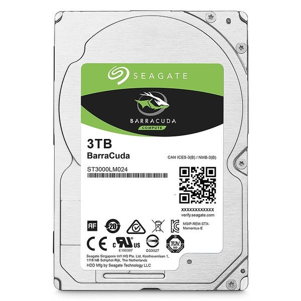 Seagate Guardian Barracuda St3000lm024 - Hard Drive - 3 Tb - Sata 6Gb/S