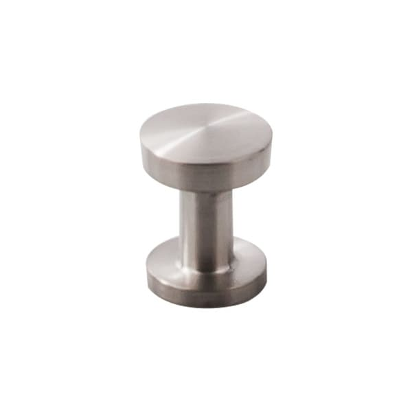 Top Knobs SS40 Stainless II 13/16 Inch Diameter Mushroom Cabinet Knob - Brushed Stainless Steel