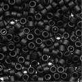 Miyuki Delica Seed Beads 11/0 'Matte Black Opaque' DB310 7.2 Grams - Thumbnail 0