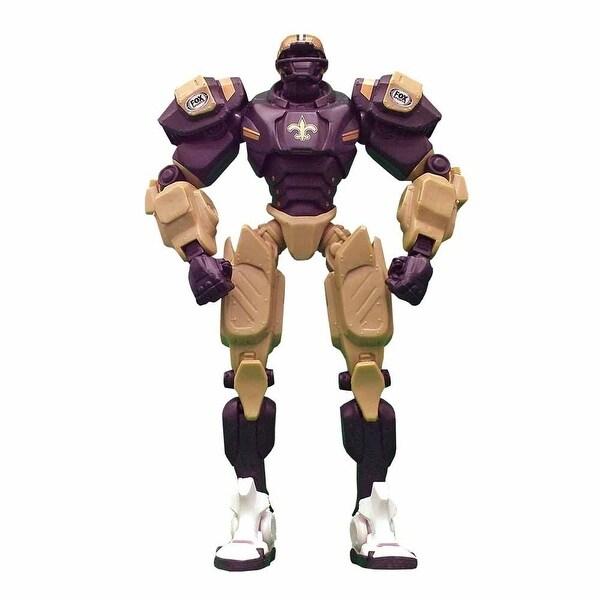 """NFL New Orleans Saints 10"""" Cleatus Fox Robot Action Figure - multi"""