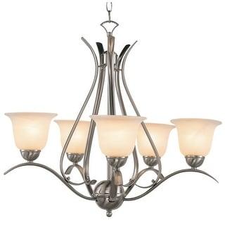 globe lighting chandelier. Trans Globe Lighting 9285 5 Light Up Chandelier From The Back To Basics Collection (