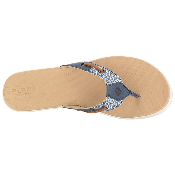 d2f55d3ad433 Shop Sperry Top-Sider Women s Seabrook Surf Mesh Flip Flop - Ships To  Canada - Overstock - 20171958