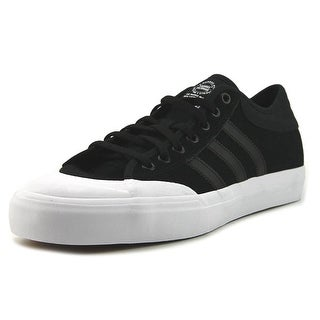 Adidas MatchCourt Men  Round Toe Canvas Black Skate Shoe