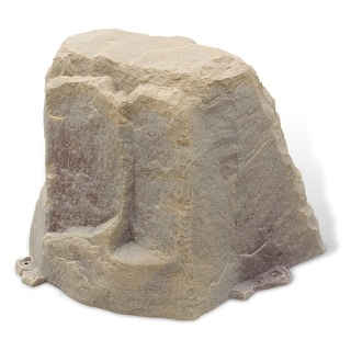 Fake Rock Well Cover Model 102 Sandstone