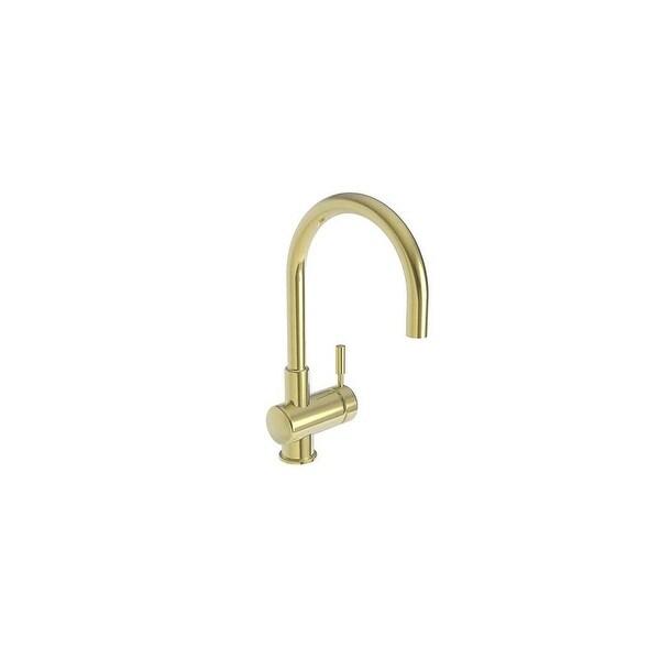 Newport Brass 2008 East Linear Single Handle WaterSense Certified Bar Faucet with Metal Lever Handle