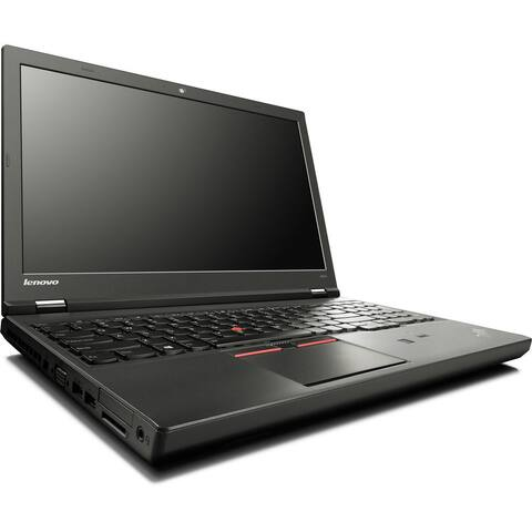 "Lenovo ThinkPad W541 15.6"" FHD Laptop Core i7-4810MQ 2.8G 8G RAM 500G DVD NVIDIA Quadro 2G DG Windows 10 Home (Refurbished)"