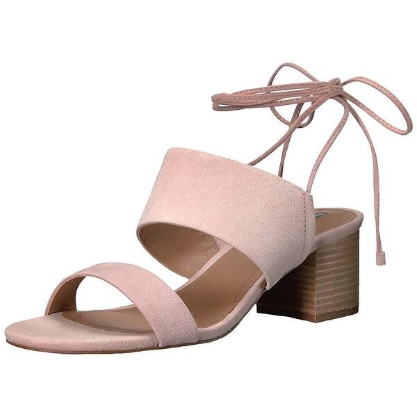 Tahari Women's Ta-Doe Heeled Sandal, Pink, Size 5.0