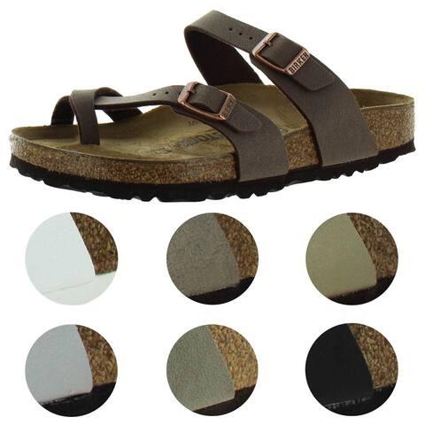 Birkenstock Women's Mayari Dual Strap Slide Sandals