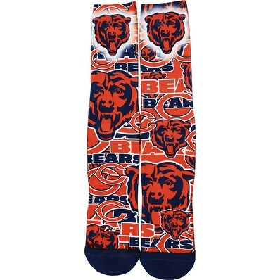 Chicago Bears Montage Promo Socks