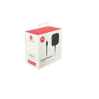 Motorola TurboPower 30 Universal USB-C Fast Charger - (Retail Packaging)