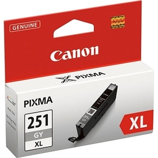Canon 6452B001 Canon CLI-251GY XL Ink Cartridge - Gray - Inkjet - High Yield - 665 Page - OEM