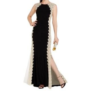 Xscape Womens Evening Dress Sleeveless Full-Length
