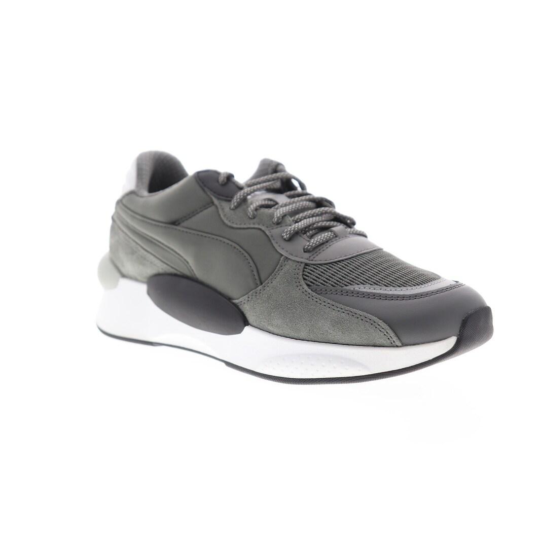 Puma RS 9.8 Gravity Castlerock Black Mens Low Top Sneakers