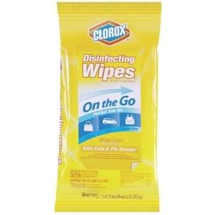 Clorox 30666 Disinfecting Wipes, Citrus Blend