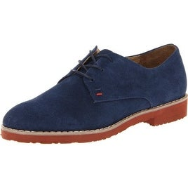 Tommy Hilfiger Womens Honeybee Leather Closed Toe Oxfords