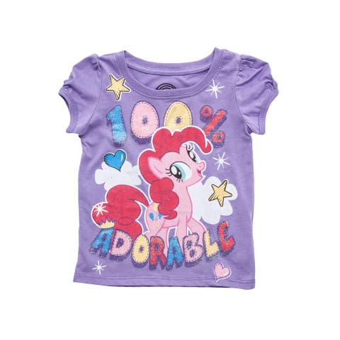100% Adorable My Little Pony Glitter - 2T