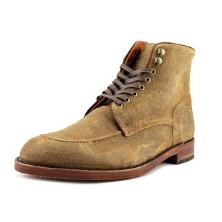 Frye Walter Lace-Up Men Round Toe Leather Tan Ankle Boot