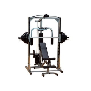 Body-Solid Powerline Smith Machine Package - metal